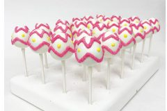 Easter eggs with pink