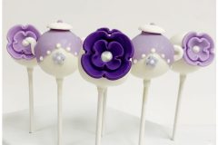 Lavender tea party theme with purple flower