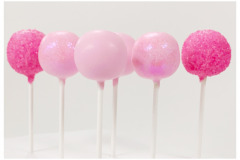 Pink sugar with bling