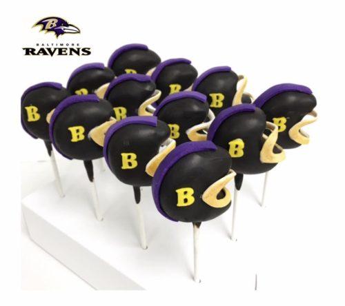 Ravens Cakepops