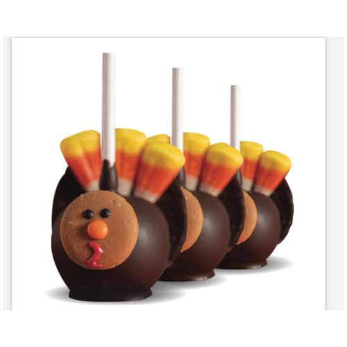 Cakepop Thanksgiving Turkeys