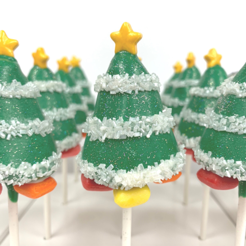 Xmas Tree Cakepop