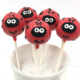 Lady Bug Themed Cakepops