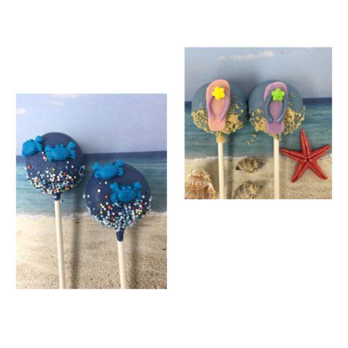 Flip FLops & Crabs Cakepops