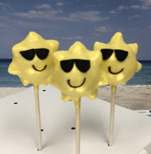 Sunshine cakepops from lisa