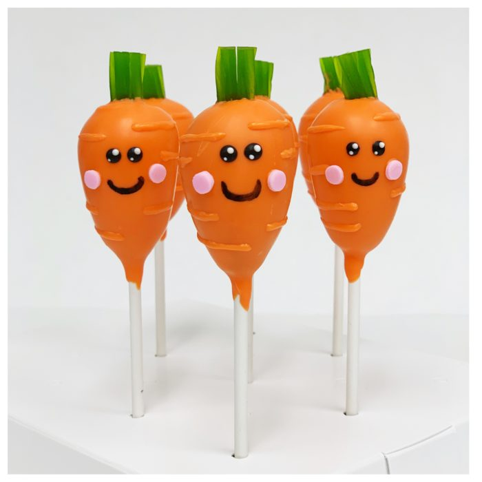 Lisa's Carrot Cakepops