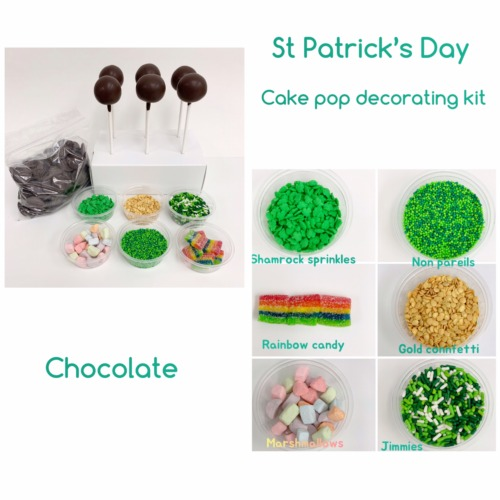 St. Patrick's Day kit chocolate